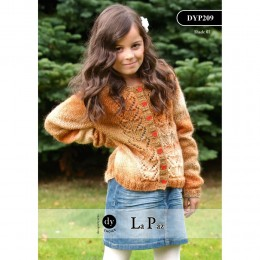 DYP209 Children's Cardigan La Paz