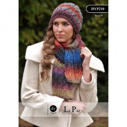 DYP210 Ladies Scarf and Hat La Paz