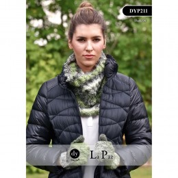 DYP211 Ladies Cowl and Mittens La Paz