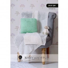 DYP289 Baby Blanket and Cushion Babyjoy 4ply