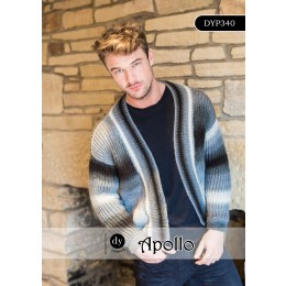 DYP340 Cardigan for Men in DY Choice Apollo