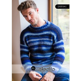 DYP341 Jumper for Men in DY Choice Apollo