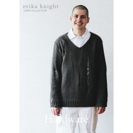 Erika Knight - Hardware: Men's V Neck Sweater