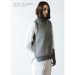Erika Knight - Smith: Polo Neck Sleeveless Vest