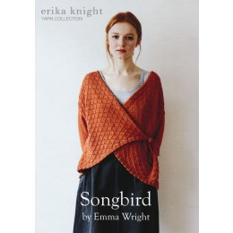 Erika Knight - Songbird: Wrap Over Cardigan by Emma Wright