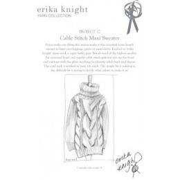 Erika Knight Cable Sweater