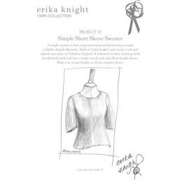 Erika Knight Simple Short Sleeve Sweater