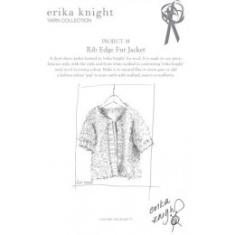 Erika Knight Rib Edge Fur Jacket