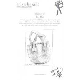 Erika Knight Fur Bag