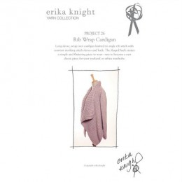Erika Knight Rib Wrap Cardigan