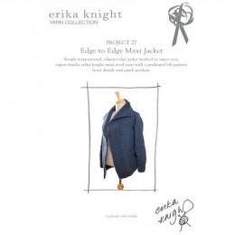 Erika Knight Edge to Edge Maxi Jacket