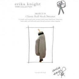 Erika Knight Classic Roll Neck Sweater