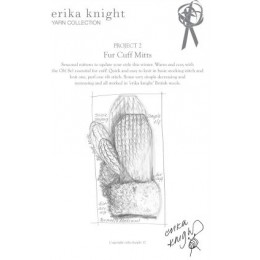 Erika Knight Fur Cuff Mitts
