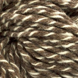 Garthenor Super Chunky Ryeland Brown & White Marl