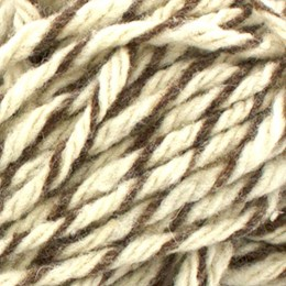 Garthenor Super Chunky Ryeland White Brown Marl
