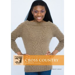 J12-01 Cross Country Pullover for women in Herriot Great
