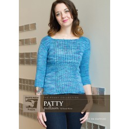 J14-02 Patty Pullover for Women in Findley DK Dappled