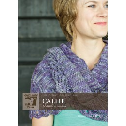 J14-06 Callie Shawl in Findley DK Dappled