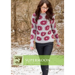 J22-02 Supermoon Pullover for Women in Moonshine Chunky
