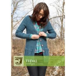 J22-06 Tidal cardigan for Women in Moonshine Chunky