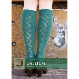 J23-01 Gallium Knee Socks for Women in Herriot Fine