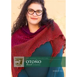 J23-02 Otono Shawl in Herriot Fine