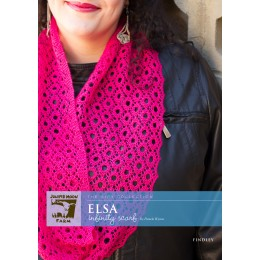 J24-01 Elsa Infinity Scarf for Women in Findley