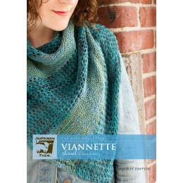 J24-03 Viannette Shawl in Findley Dappled