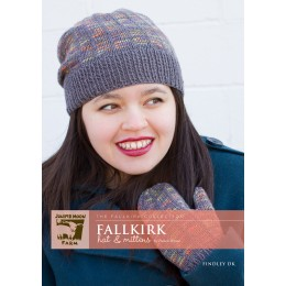 J25-01 Fallkirk Hat and Mittens for Women in Findley DK