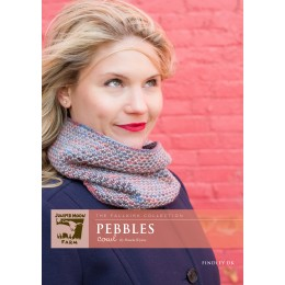 J25-03 Pebbles Cowl for Women in Findley DK
