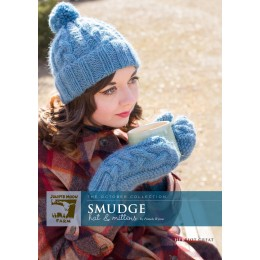J27-01 Smudge Hat and Mittens for Women in Herriot Great