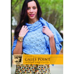 J31-01 Gales Point Oversized Wrap for Women in Cumulus