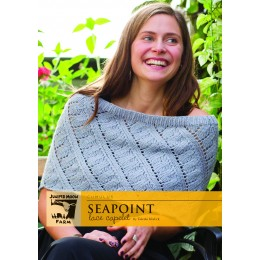 J31-02 Seapoint Lace Capelet for Women in Cumulus