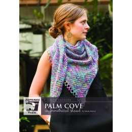 J32-01 Palm Cove Shawl for Women in Findley Dappled