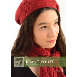 J4-07 Brant Point Beret for Women in Findley DK