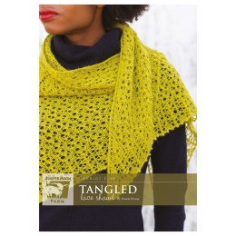 J40-01 Tangled Shawl for Women in Herriot Fine
