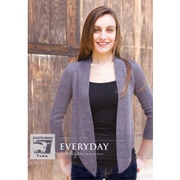 J40-02 Everyday Cardigan for Women in Herriot Fine