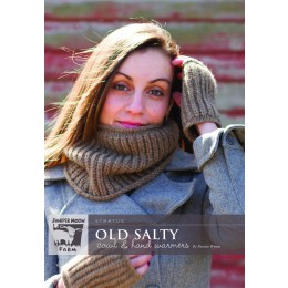 J43-03 Old Salty Cowl and Hand Warmers in Stratus