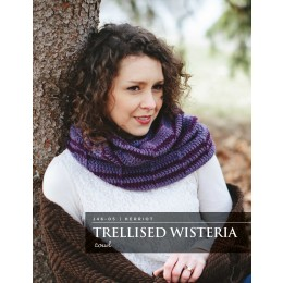 J46-05 Crochet Trellised Wisteria Cowl for Women in Herriot