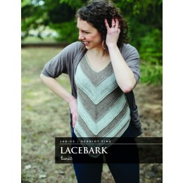 J46-06 Crochet Lacebark Tunic for Women in Herriot Fine
