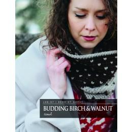 J46-07 Crochet Birch & Walnut Cowl in Herriot Great