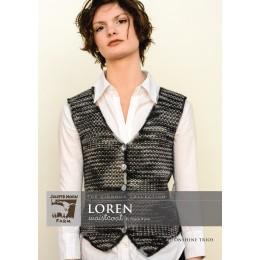 J8-03 Loren Waistcoat for Women in Moonshine Trios
