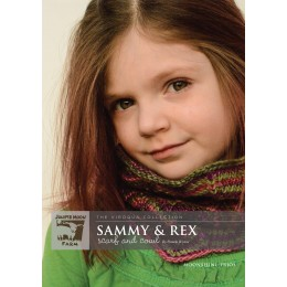 J8-05 Sammy & Rex Scarf and Cowl for Children in Moonshine Trios