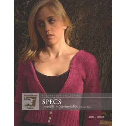 J8-07 Specs Sweater for Women in Moonshine