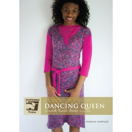 J9-01 Dancing Queen Tunic Dress for Women in Findley Dappled