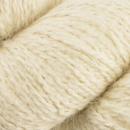 John Arbon Alpaca 2-3Ply Laceweight 100g Natural White