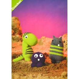 JB410 Crochet Monsters in DK