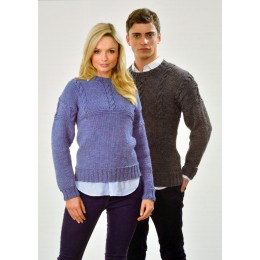 JB421 Jumper for Men and Women in Twisted