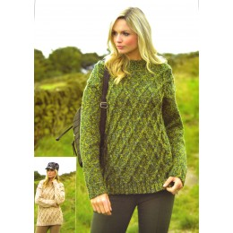 JB428 Jumper designs for Women in Chunky