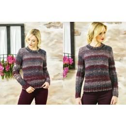 JB467 Ladies Sweaters in James C Brett Tuscany Chunky